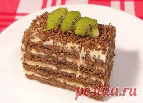Как приготовить торт без выпечки. - рецепт, ингредиенты и фотографии