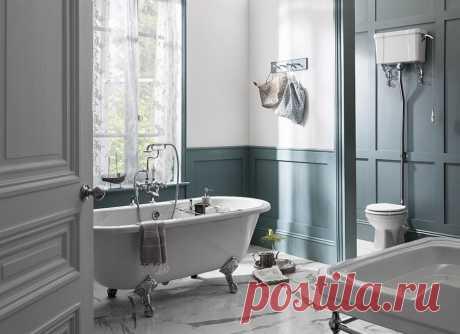 Канделябры в ванной? Ну, нет… Или все-таки да??? Всё о классическом стиле в современной ванной комнате