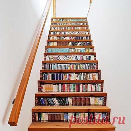 Идеи декора лестниц #уют@rukodelimsami