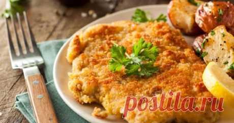 Как приготовить шницель - рецепты на сковороде из свинины, телятины, курицы, фарша и рыбы