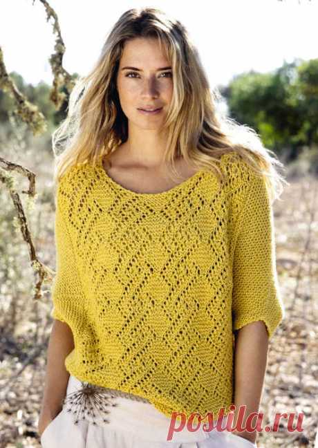 Пуловер - туника.