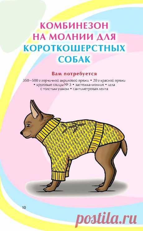 Вязание спицами и крючком для животных