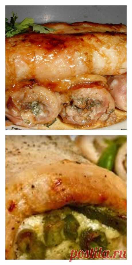 Бесподобные куриные рулетики: отличная закуска. - tolkovkysno.ru