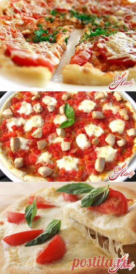 Идеальный рецепт вкусной пиццы