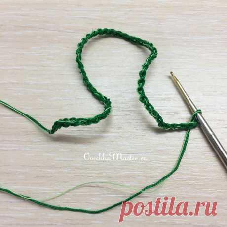 Спиральки крючком (как связать и где применить)