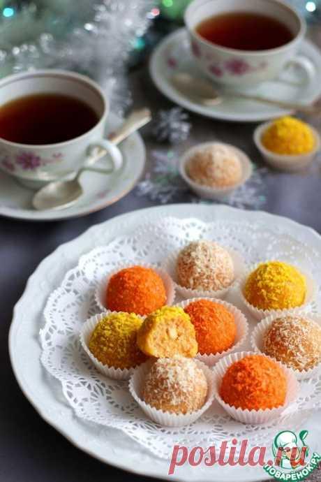 """Домашние конфеты """"Три орешка для Золушки"""" – кулинарный рецепт"""