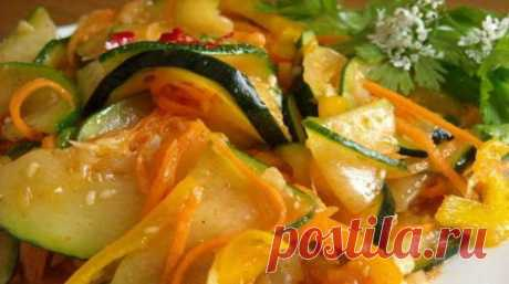 Кабачки «Застольные» — вкуснейшее угощение | Четыре вкуса