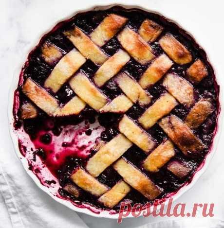 Рецепт кето пирога из ягод (с подсчётом БЖУ)