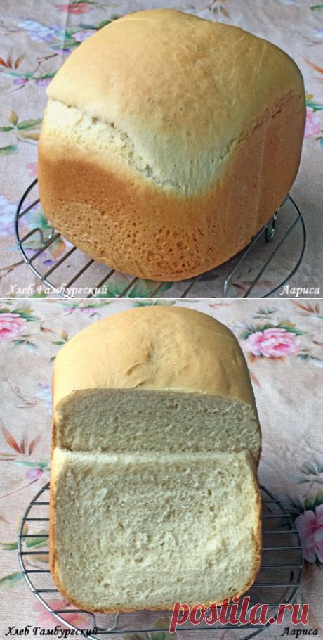 Печем в хлебопечке. Хлеб Гамбургский.