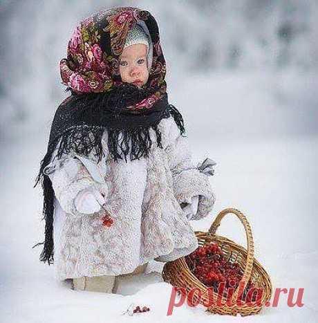 """Просто само очарование - """"есть женщины в Русских селениях...."""""""
