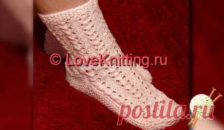 Ажурные носки | Loveknitting.ru
