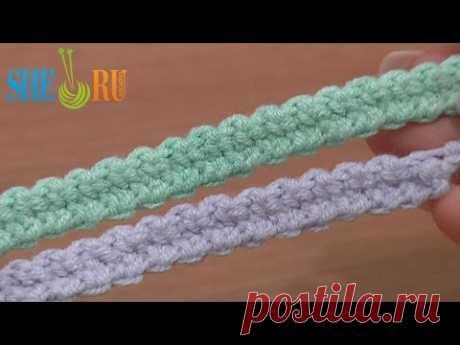 Romanian Point Lace Урок 48 Широкий шнур гусеничка