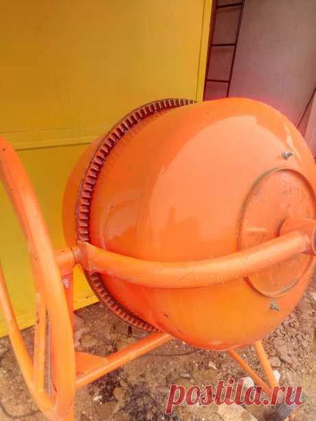 Бетономішалка, куплена в минулому році - Електрообладнання Долина на board.if.ua код оголошення 52666