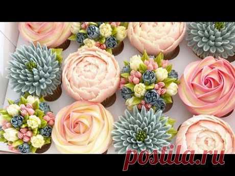 Amazing Cupcake Decorating Video | So Yummy