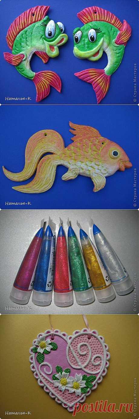 Рыбки из солёного теста. | Страна Мастеров