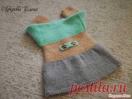 Кардиган для Нины - просто, тепло, мягко - Вязание - Страна Мам