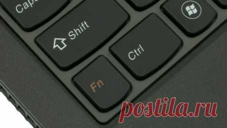 Секретная клавиша Fn: зачем она нужна и как пользоваться, что если не работает правильно