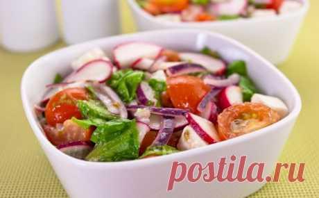 Диетические салаты для похудения: фото и рецепты простых овощных салатов в домашних условиях