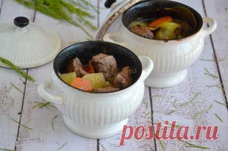 Говядина в горшочках с картошкой рецепт с фото пошагово и видео - 1000.menu