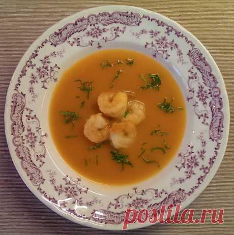 Суп-пюре с креветками | Поделки, рукоделки, рецепты | Яндекс Дзен