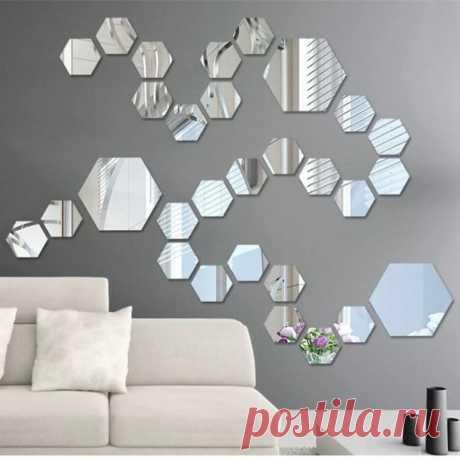 Инсталляции из зеркал в интерьере — Сделай сам, идеи для творчества - DIY Ideas
