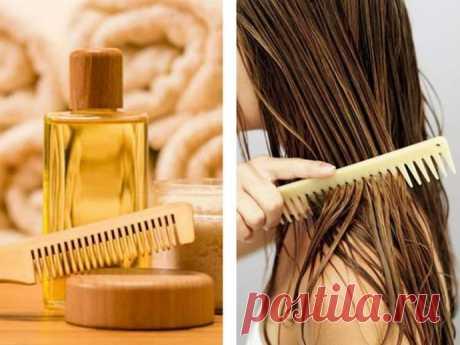 Витаминизированное масло для волос