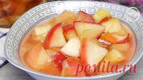 Теперь яблоки заготавливаю только таким способом (готовятся 5 минут и расход сахара небольшой) Вкусней, чем варенье