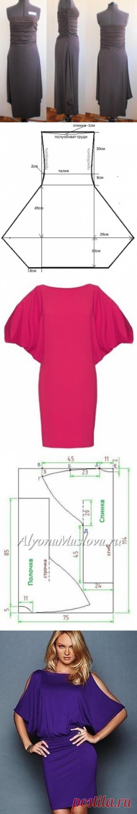 Платье+выкройка .(27 часть)