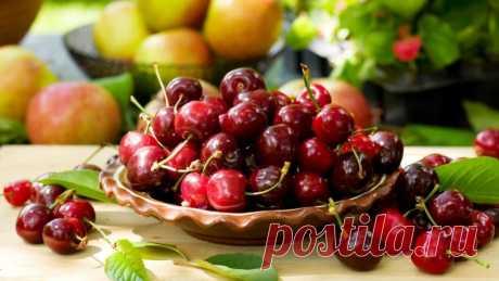 Черешня сильнее аспирина - все свойства ягоды - ЖЕНСКИЙ МИР - медиаплатформа МирТесен
