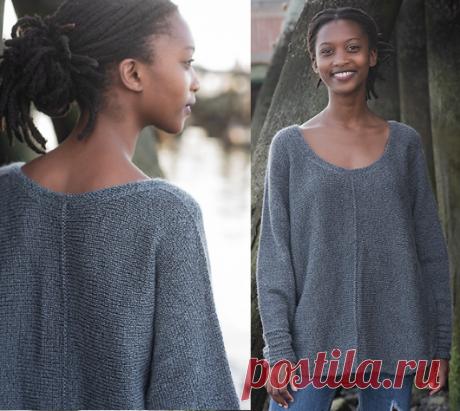 Вязаный пуловер StrangeWeather | ДОМОСЕДКА