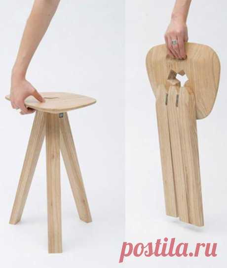 Складные стулья. #DIY_Идеи
