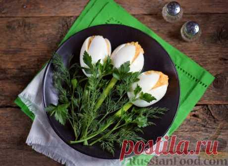 Фаршированные яйца - приготовить легко, а кушать вкусно!
