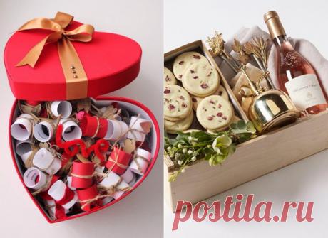 Что подарить на День Валентина для нее и для него - идеи своими руками