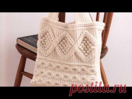 Подборка вязаных сумок крючком 🍂 crochet bags.