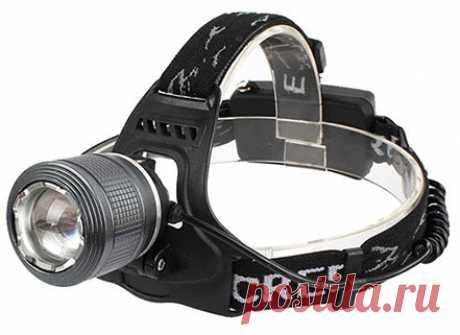 Сверхмощный налобный фонарь Hl-900