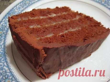 шеф-повар Одноклассники: Ромовый Шоколадный торт мокко.