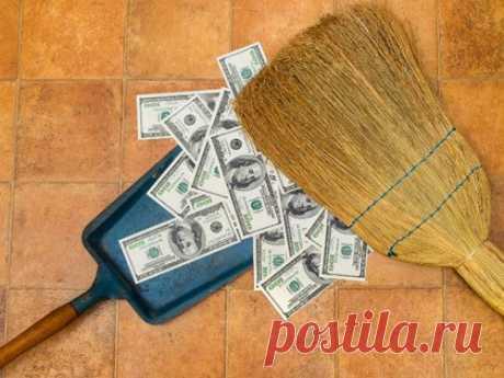 5 частых ошибок при уборке, из-за которых деньги уходят из дома