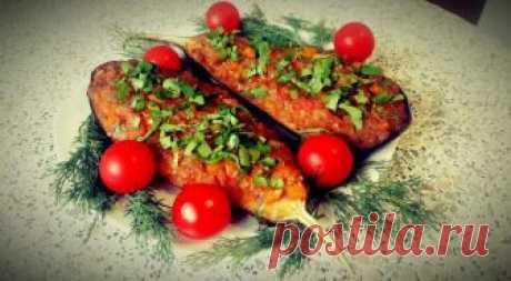 Вкус и аромат сводит с ума! Баклажаны фаршированные овощами — Фактор Вкуса