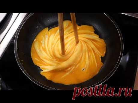 tornado omelette master / korean street food