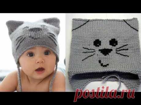 Вязаная шапочка для новорожденного спицами: утепляем малыша своими руками, схемы с описаниями работы