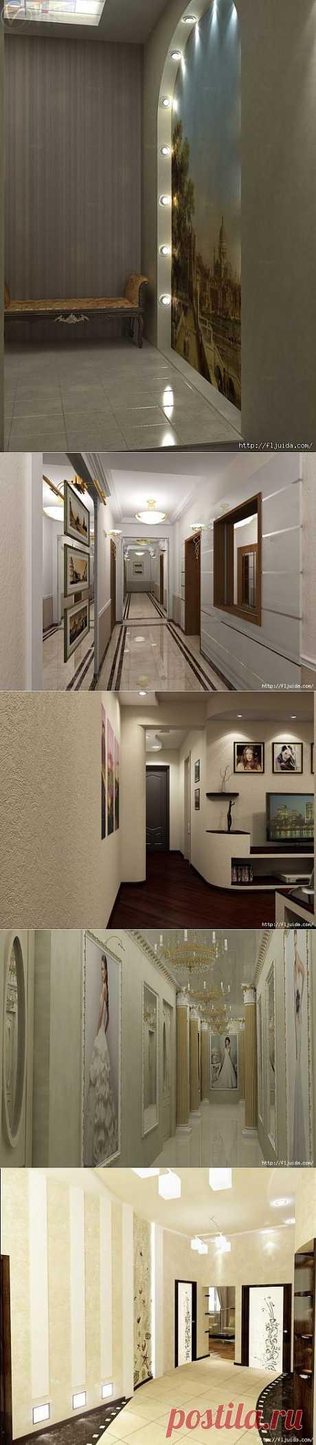 Красиво оформляем коридор..