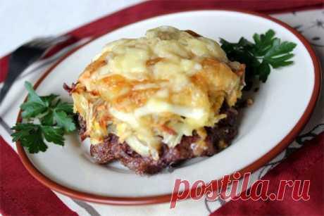 Стожки - блюдо из мясного форма  Такое блюдо можно поставить на праздничный или на повседневный стол
