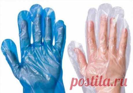 Нужны одноразовые перчатки? Сделайте их сами! | Краше Всех