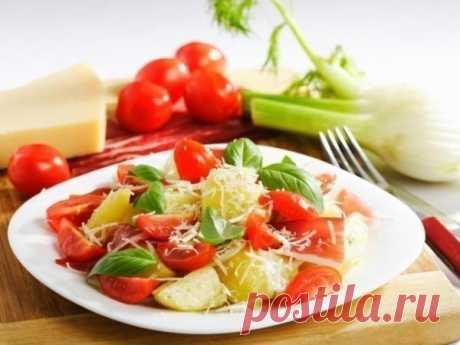 Nourishing salad.