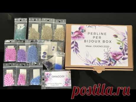 Presentazione mensile della Perline per BiJoux Box! - Giugno 2020