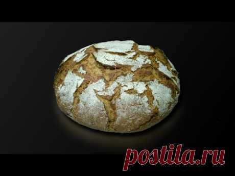 Немецкий фермерский хлеб 50:50