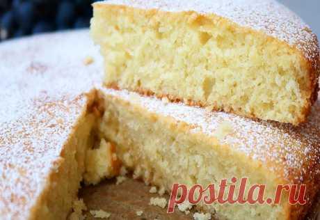 Пышный пирог на кефире: Простой и очень вкусный