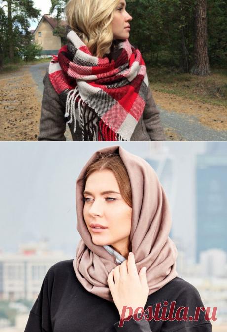 Как палантин завязать на шее и голове разными способами? Палантин – это широкий шарф, разнообразных расцветок и фактур. Незаменимый аксессуар в гардеробе современной женщины, его носят в любое время года. Это очень удобная вещь, им можно заменить кардиган, летнее пальто, легкий джемпер. Палантин, сшитый из плотных шерстяных тканей может заменить даже пальто на холодные дни.