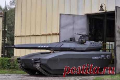 PL-01 - легкий польский танк поступит на вооружение в 2018