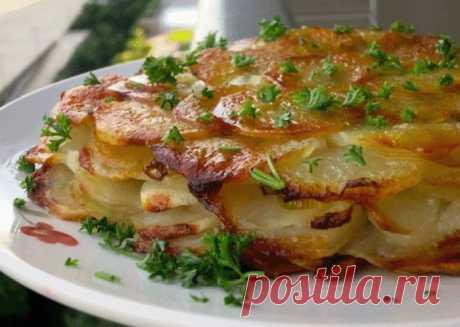 """Картофель """"Анна"""" - блюдо, от которого все облизывают пальчики."""